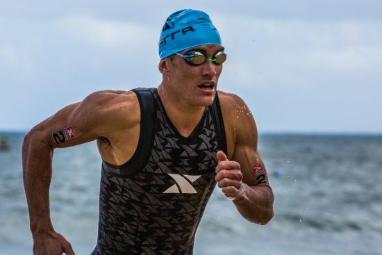 Braden Currie at the 2016 XTERRA World Champs